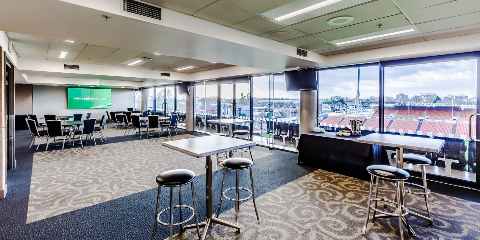 Gallagher Lounge FMG Stadium Waikato Day Delegate Package 2020