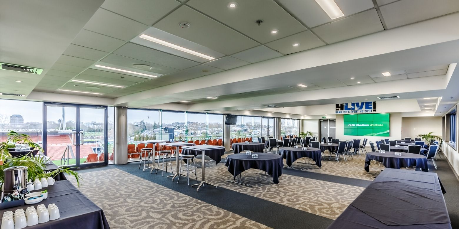 Ricoh Lounge FMG Stadium Waikato Day Delegate Package 2020