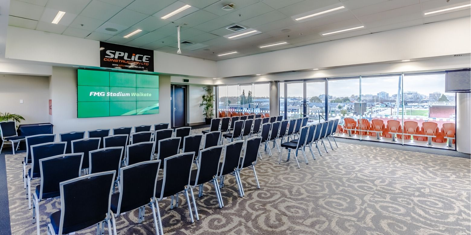 Splice Lounge FMG Stadium Waikato Day Delegate Package 2020